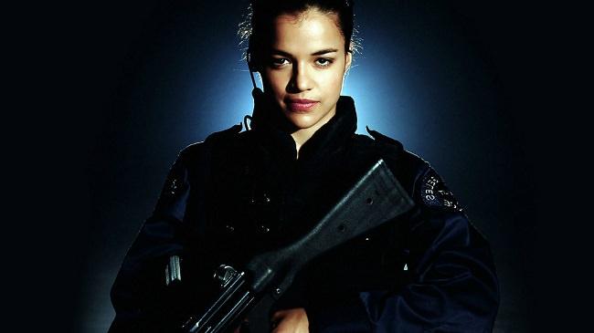 ميشيل رودريغز عن دورها في SWAT