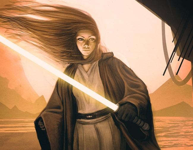 نومي سَنرايدر - Nomi Sunrider، أقوى امرأة في مجرة حرب النجوم