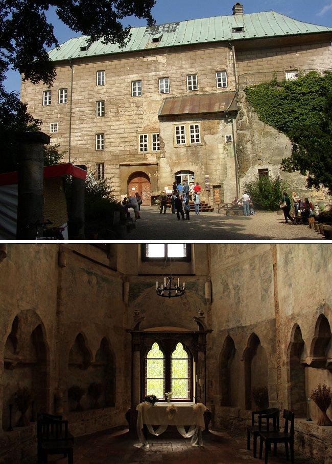 قصر هوسكا - التشيك