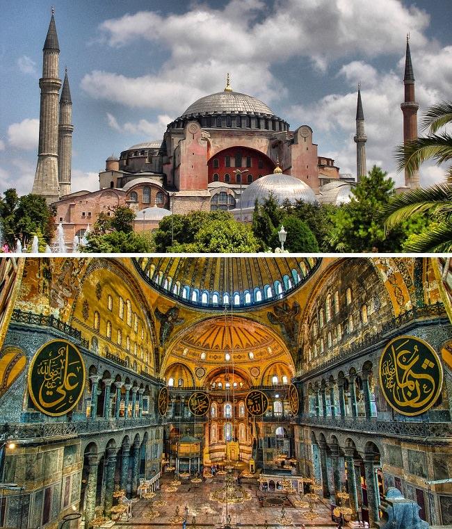 متحف آيا صوفيا - تركيا