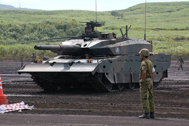 دبابات تايب-10 - اليابان