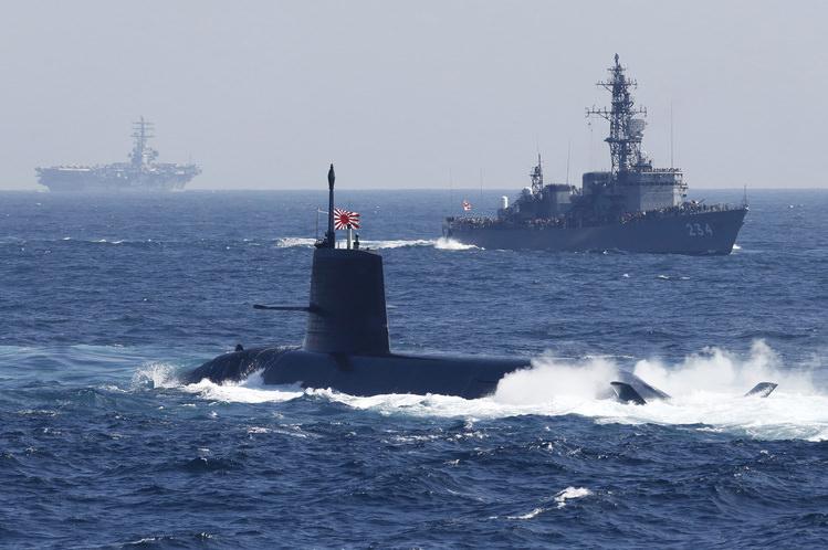 اليابان - رابع اكبر اسطول من الغواصات