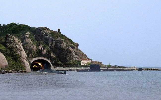 قاعدة يولين البحرية - الصين