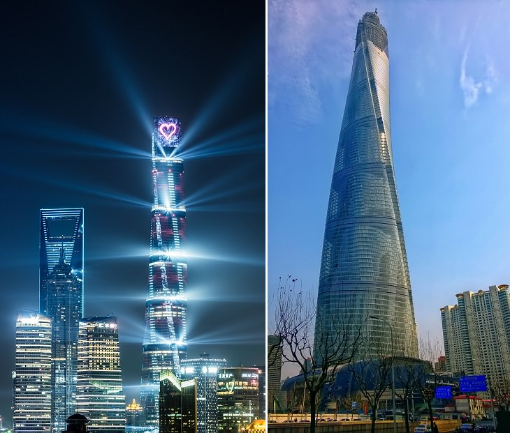 برج شانغهاي - شانغهاي، الصين
