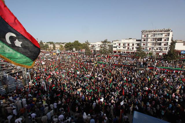 ليبيا الشرقية والغربية