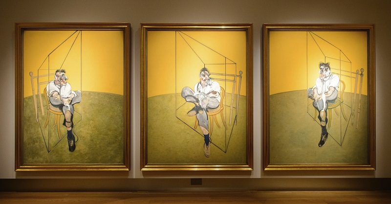 لوحات Three Studies of Lucian - ثمنها 142.2 مليون دولار