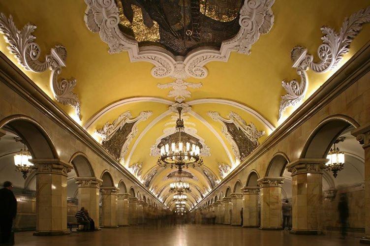 محطة المترو أفوتو | سانت بطرسبرغ | روسيا