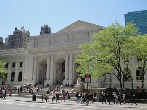 مكتبة نيويورك العامة - نيويورك - 55 مليون مادة