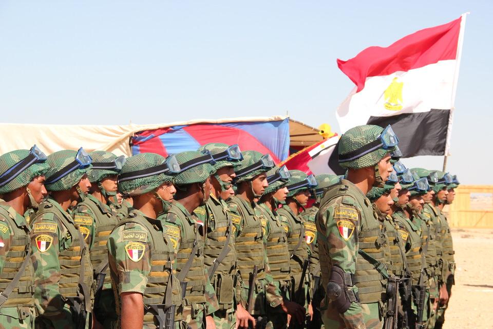 المركز التاسع:  الجيش المصري – الأول عربيا