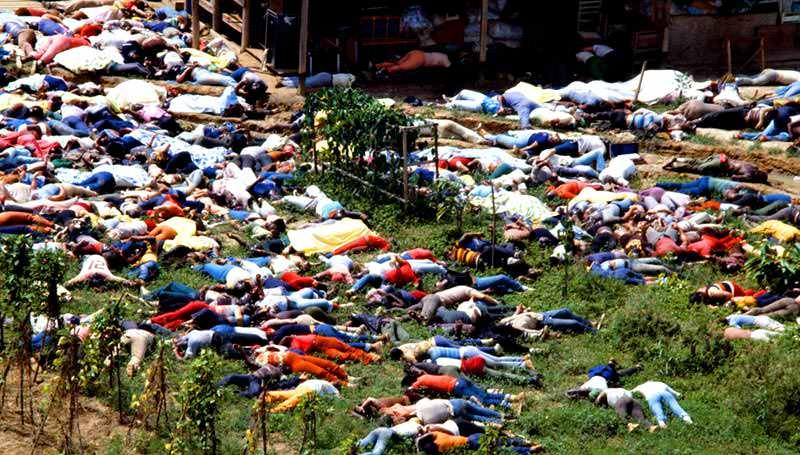 مجزرة جونزتاون - 918 شخص