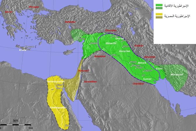 الإمبراطورية الأكادية - من 2334 إلى 2193 ق.م.