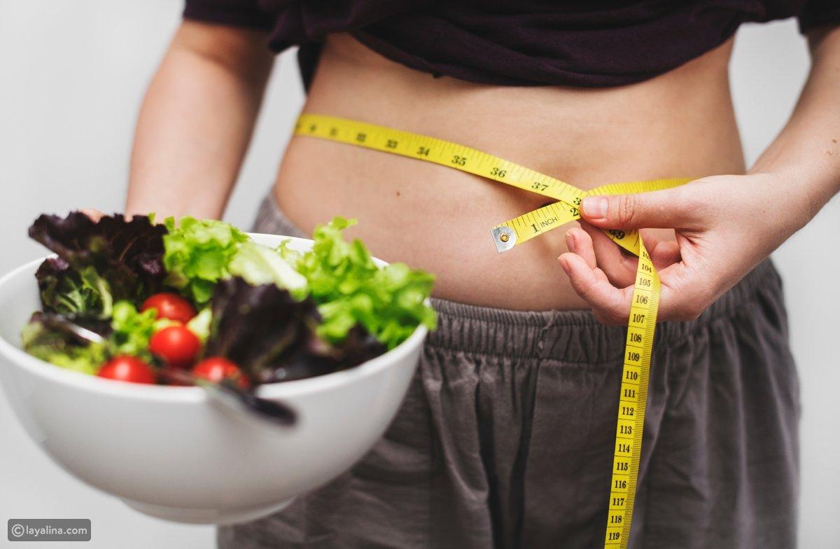 الوزن و النمط الغذائي