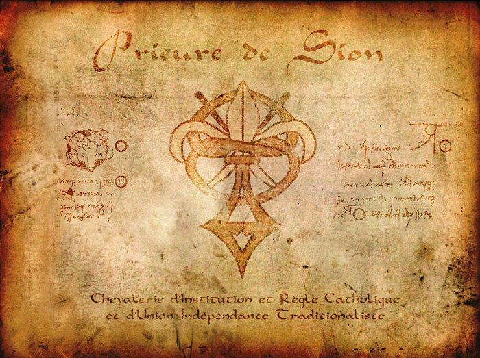 أخوية سيون - «The Priory of Sion»