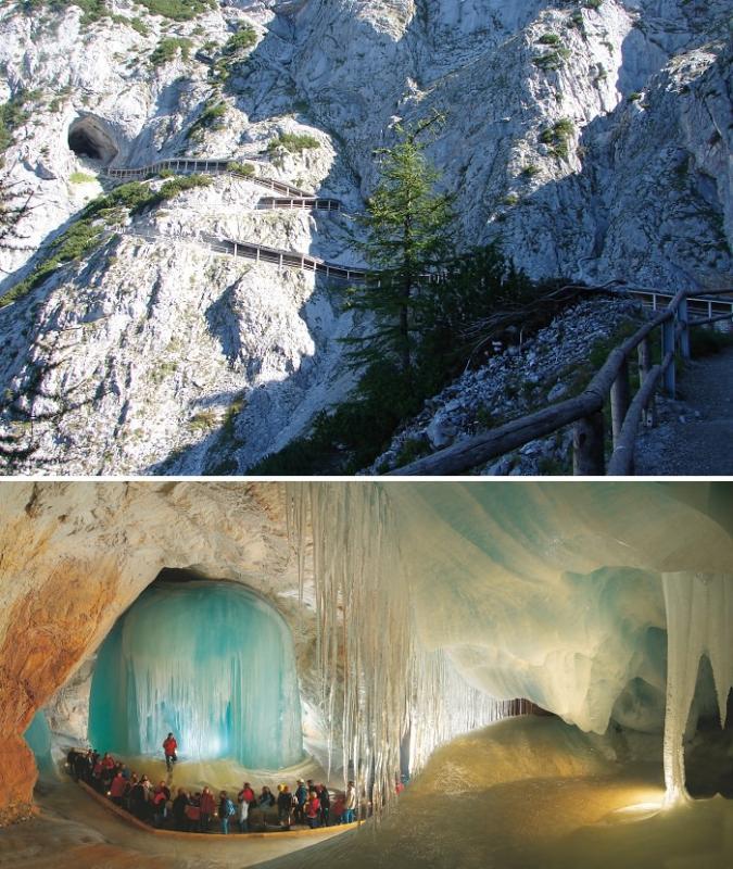 كهف العمالقة - Eisriesenwelt Cave
