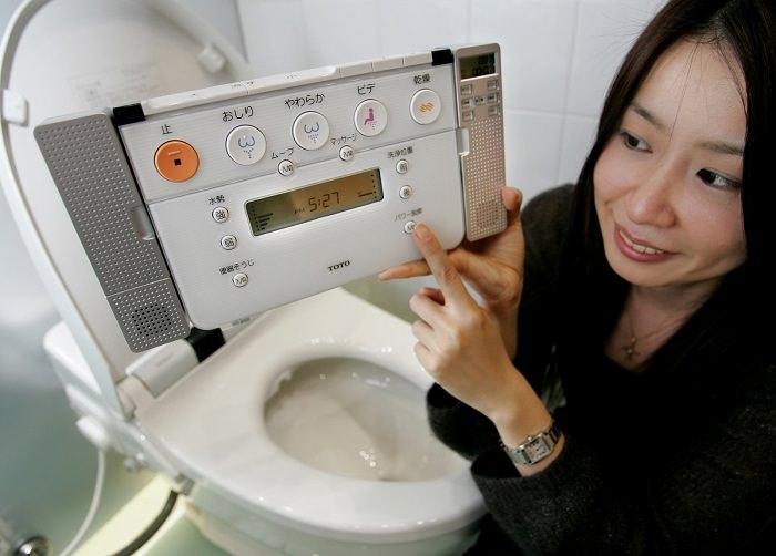 المراحيض الذكية