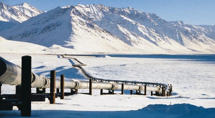 خط أنابيب عبر-ألاسكا للنفط في الولايات المتحدة - 8 مليار دولار