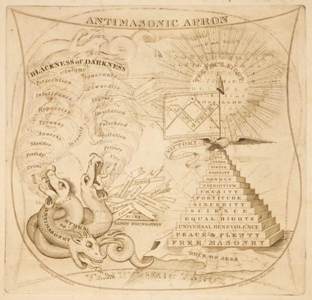 حزب مناهضة الماسونية - الولايات المتحدة الأمريكية - 1828-1838