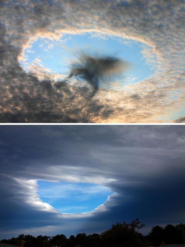 ثقوب الغيوم