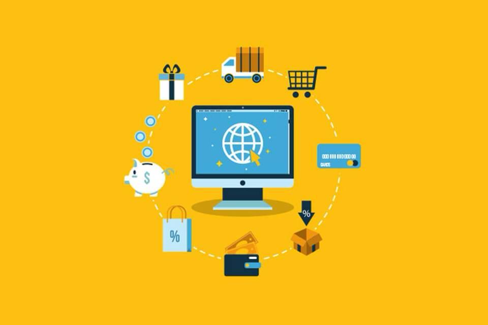 المكان والزمان للتجارة الالكترونية