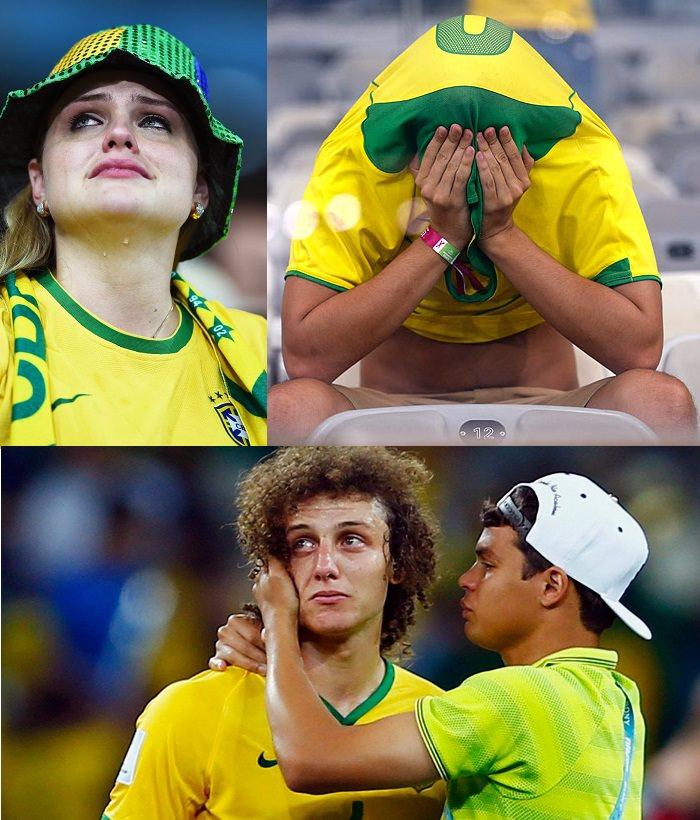 خسارة البرازيل المدوّية في عام 2014