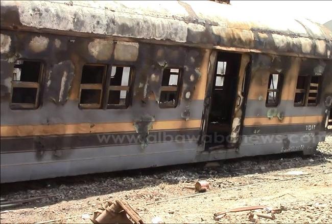 حريق قطار الصعيد سنة 2002 - عدد الوفيات 360 شخص