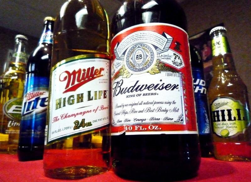 Budweiser مقابل Miller