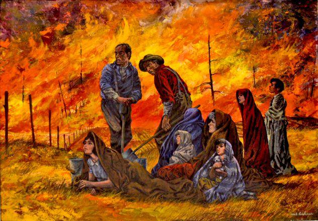 حريق بيشتيغو - الولايات المتحدة الأمريكية سنة 1871