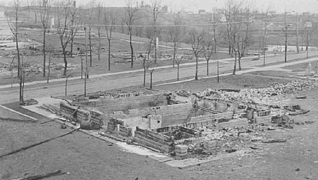 حريق كلوكيت - الولايات المتحدة الأمريكية سنة 1918