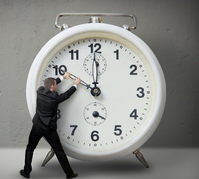 الوقت يمضي وليس لديك الكثير لتضييعه