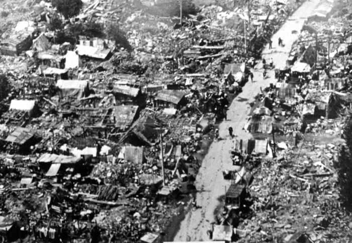 زلزال تانغشان