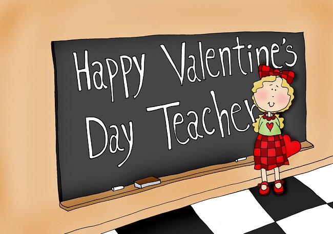 المعلمون يحصلون على معظم بطاقات عيد الحب