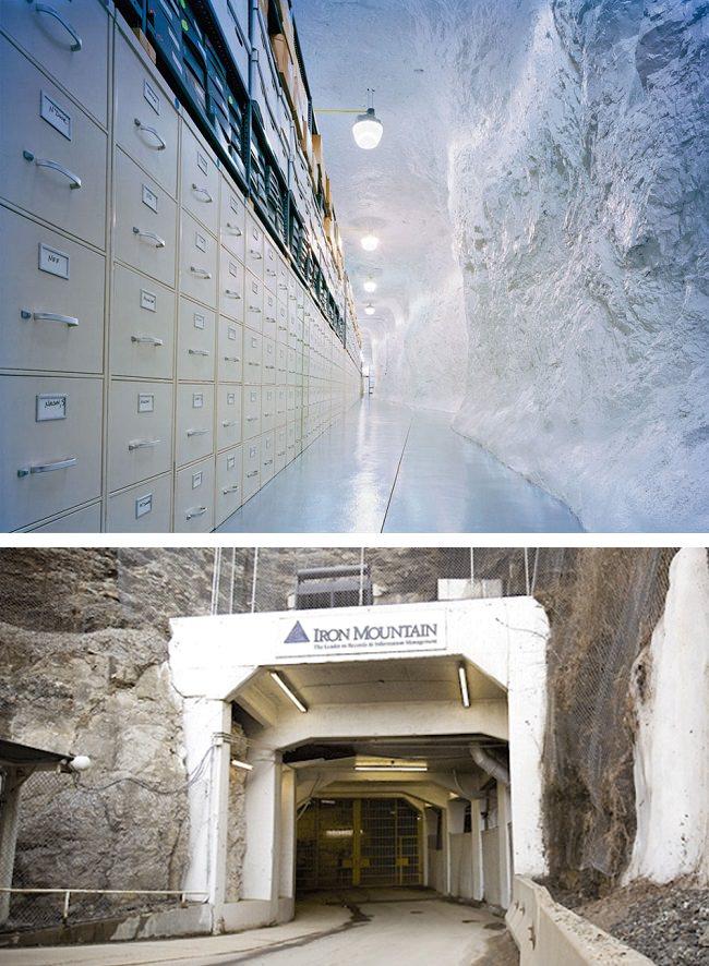 الجبل الحديدي، الأرشيف الرسمي العالمي