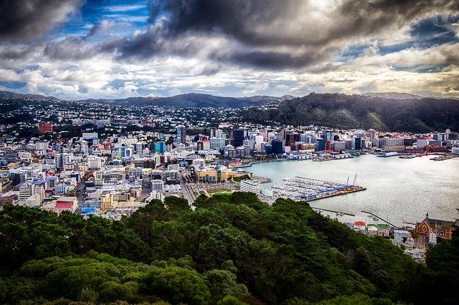 مدينة ويلينغتون - نيوزيلندا