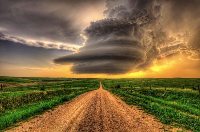 الطريق إلى العاصفة