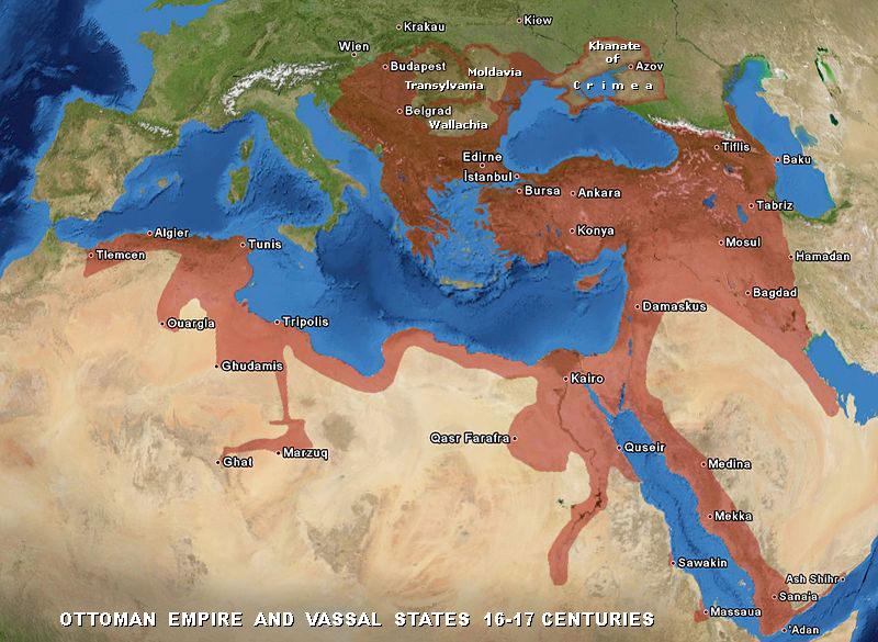 الإمبراطورية العثمانية - من 1299 إلى 1922 م