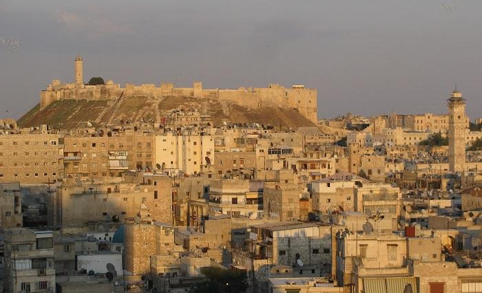 حلب، سوريا - تأسست قبل 6،300 عام