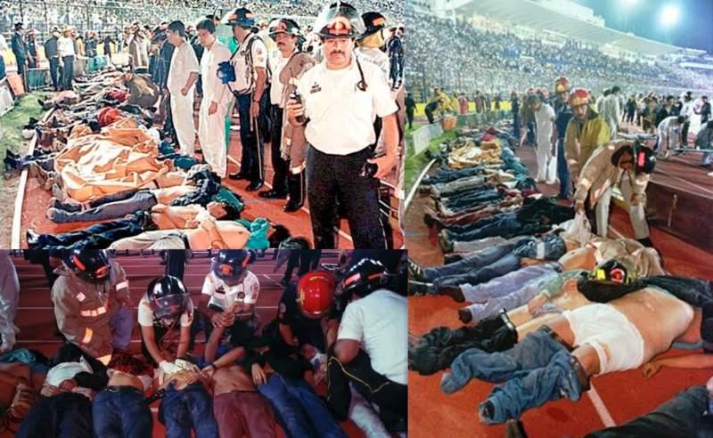 مجزرة إستاد ماتيو فلوريس في غواتيمالا سنة 1996 - مقتل 83 شخصاً