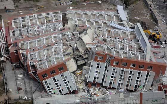 زلزال شاطئ مولي، تشيلي، 2010 - القوة 8.8