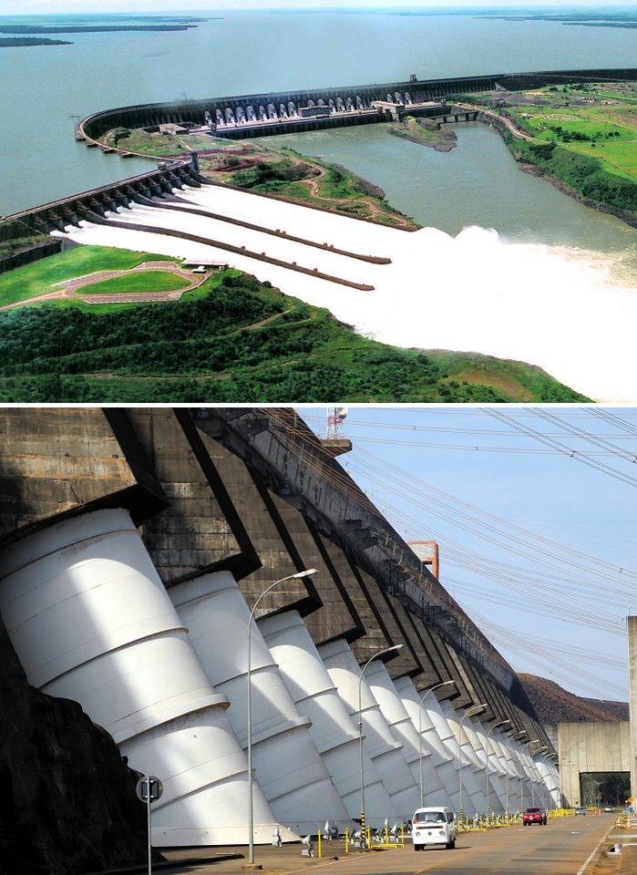 سد «آيتابو» في البرازيل والبراغواي - 20 مليار دولار