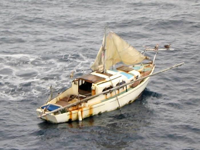 «رتشارد فان فام» - 3 أشهر في عرض المحيط الهادئ