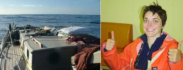 «أماندا ثورنز» و«دينيس وايت» - 16 يوماً في عرض البحر
