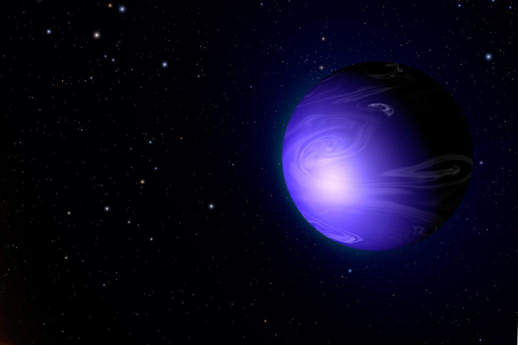 كوكب HD 189733b أو الكوكب الزجاجي