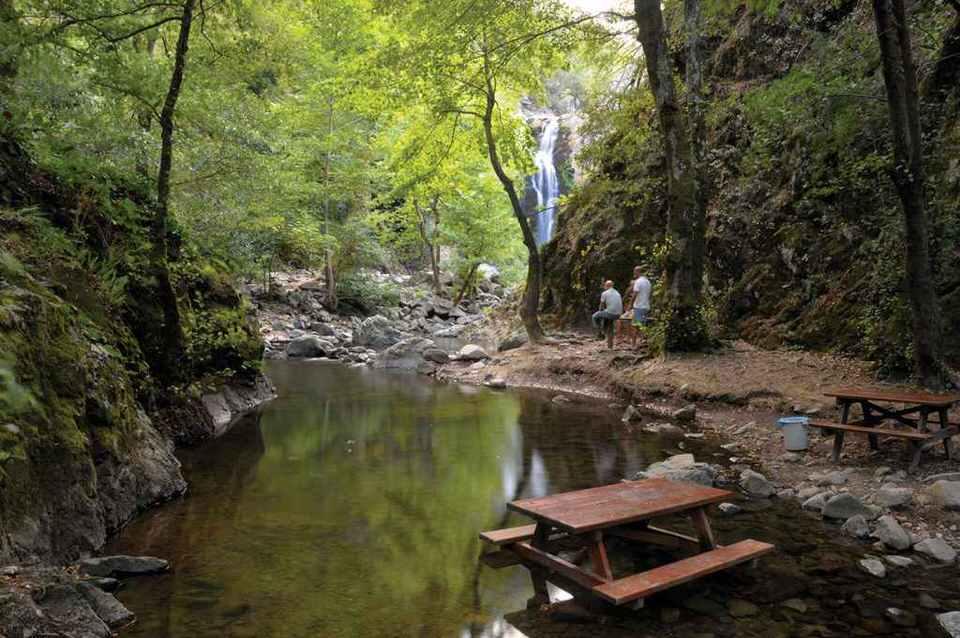 شلال صودوشان من مناطق تركيا السياحية