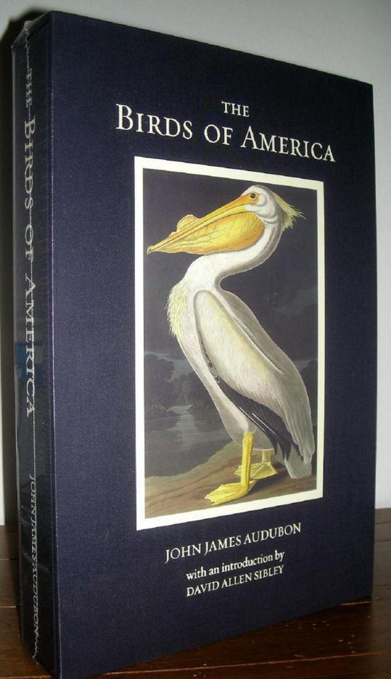 كتاب طيور أمريكا The Birds of America