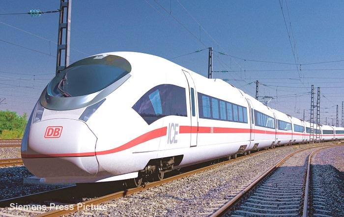 قطار ICE 3 في ألمانيا - 335 كم في الساعة