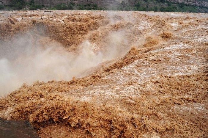فيضان النهر الأصفر في الصين عام  1887 - 2 مليون شخص